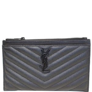 YVES SAINT LAURENT BILL POUCH GRAIN DE POUDRE